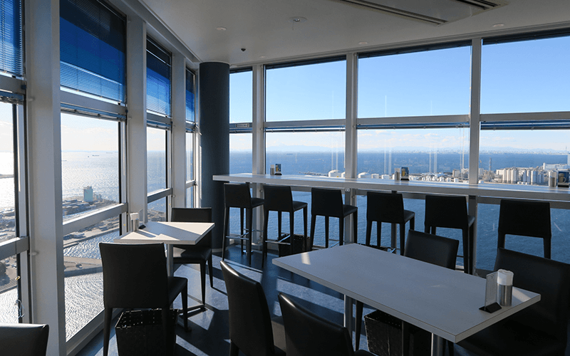 千葉ポートタワー3階のレストラン