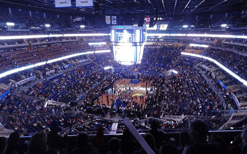 NBAの会場の画像