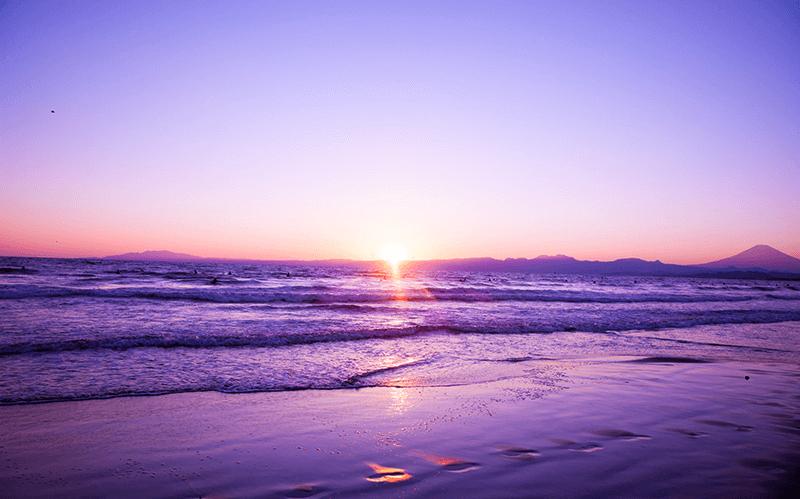 日の出の画像