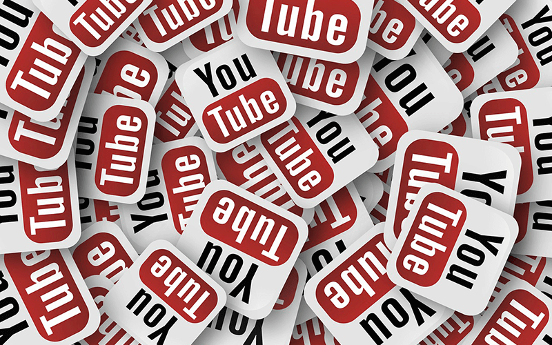 YouTubeの動画を共有するイメージ画像