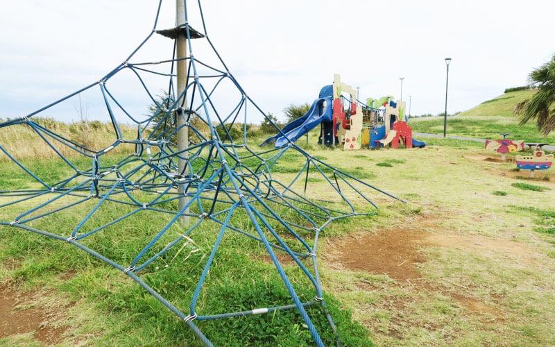 高洲海浜公園の幼児用遊具