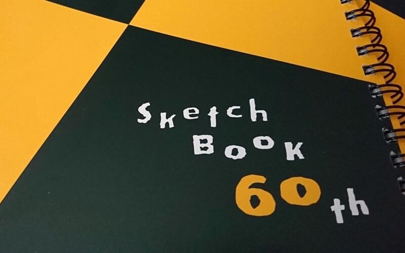 スケッチブック図案の60周年グッズレビュー