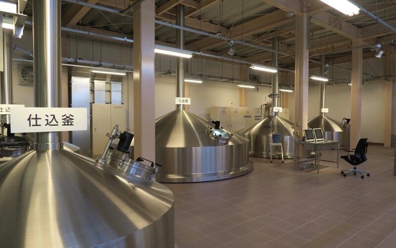 軽井沢ビールの工場見学1