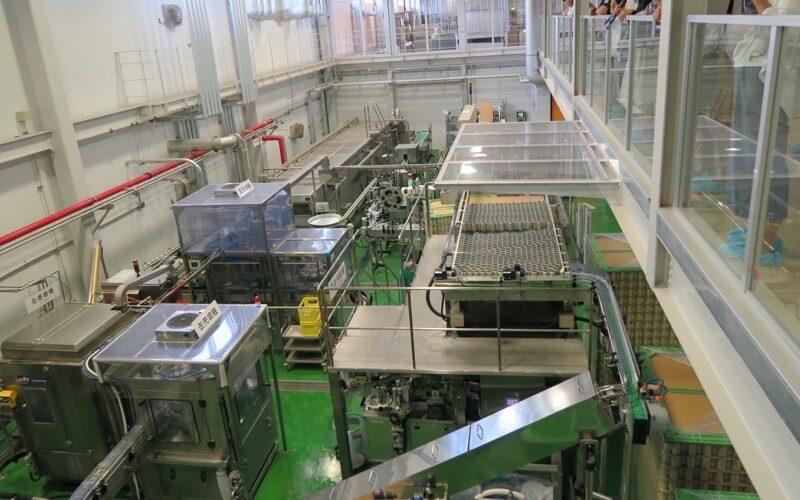 軽井沢ビールの工場見学2