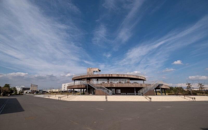 三番瀬海浜公園の展望台